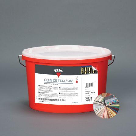 KEIM Concretal®-W teintes pastel