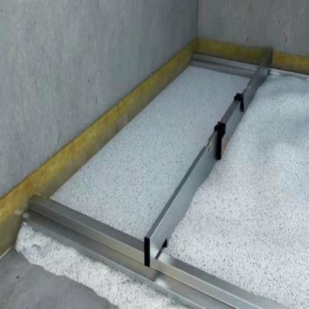 Chape sèche granulats de Fermacell et Plaques