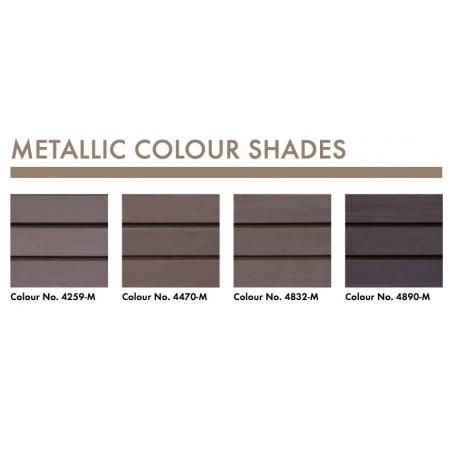 KEIM Lignosil®-Verano couleurs métalliques