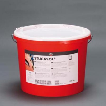 KEIM Stucasol® ribbé blanc seau 25kg