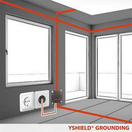 Plaque intérieure pour peinture Yshield