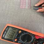 Sweat shirt coton et argent forte protection 50 dB