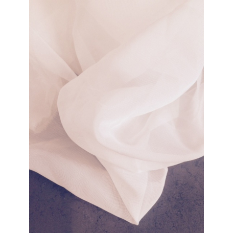 Tissu blanc transparent 35 dB