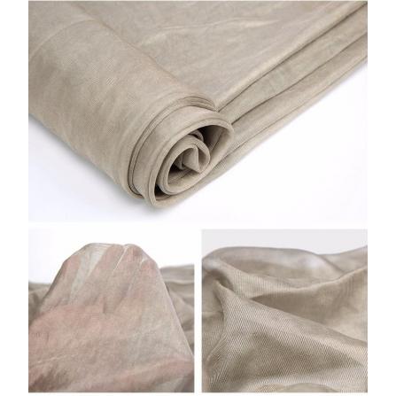 Tissu 100% fibre argent 50 dB